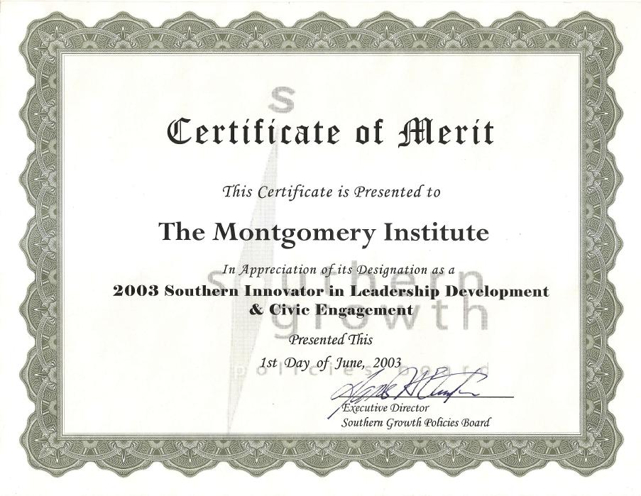 2003 Innovator Award